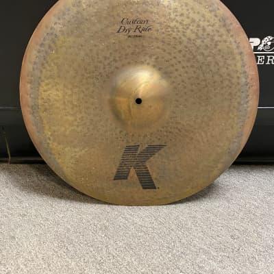 "Zildjian K Custom Dry 20"" Ride - New Store Demo"