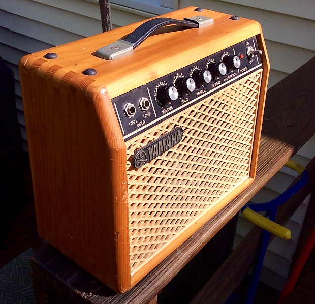 Yamaha G5 Guitar Amplifier 1980 S Natural Reverb