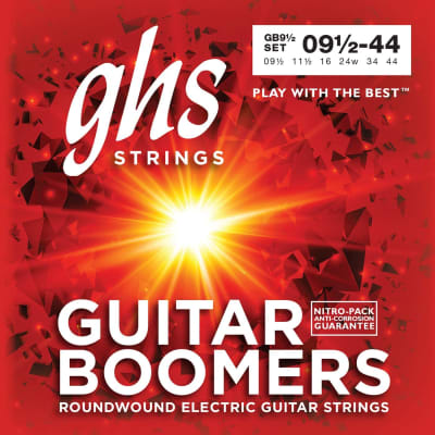 GHS Boomers GB 9 1 2 Electric Guitar Strings