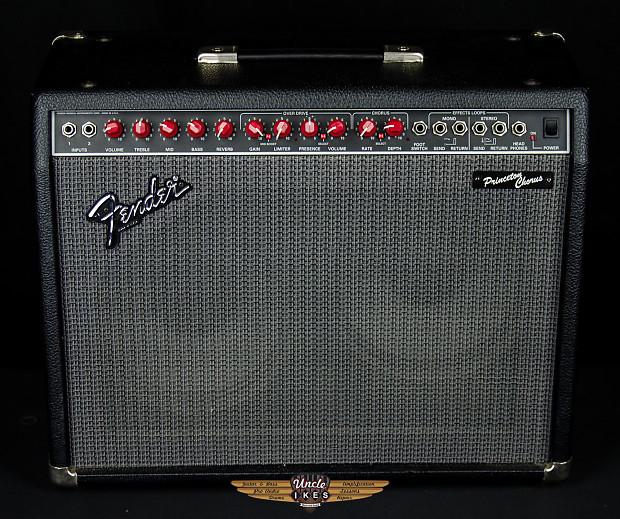 Used Fender Princeton Chorus 210 Guitar Amp, Red Knob, USA Made