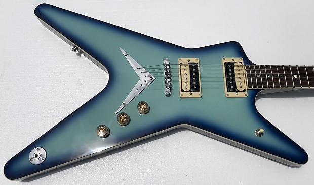 Dean Ml 79 Blue Burst Electric Guitar Neal S Music Reverb