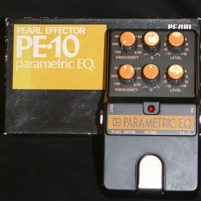 Pearl Japan PE-10 Parametric EQ with original box