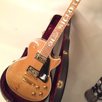 Gibson (Andrew Jackson) Old Hickory Guitar Autographed by Les Paul - Rare Collector Piece for sale