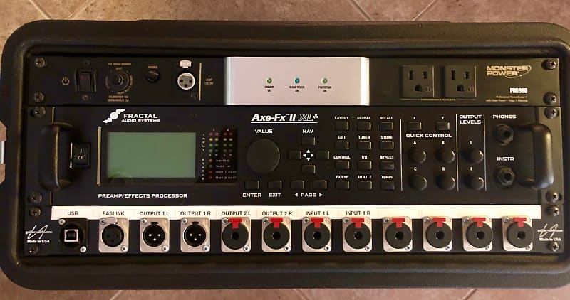 fractal audio axe fx ii xl preamp effects processor with mfc reverb. Black Bedroom Furniture Sets. Home Design Ideas