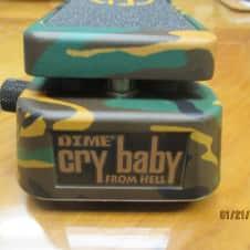Dunlop  Dimebag  Cry Baby Wah  Camo