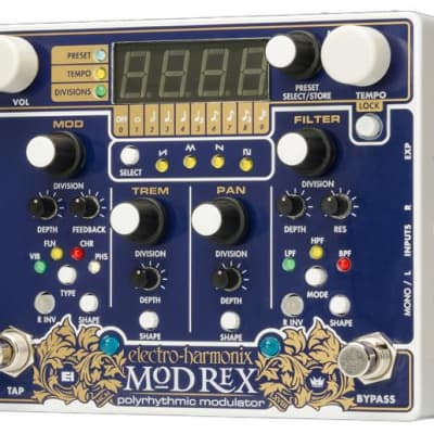 Electro Harmonix Mod Rex Polyrhythmic Modulator Pedal for sale