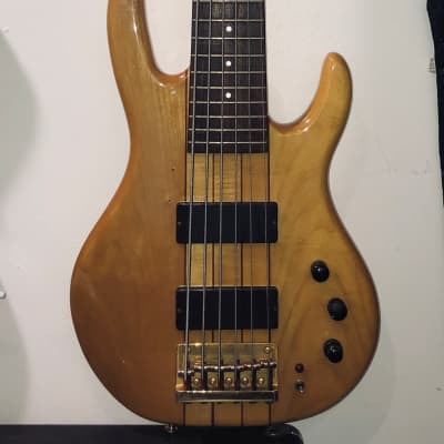 Hohner B Bass VI Sixt String Bass W/ Fitted Aluminum Case Natural for sale