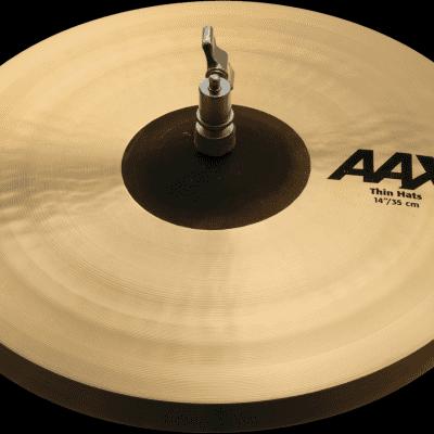 "Sabian 14"" AAX Thin Hi-Hat Cymbals (Pair)"