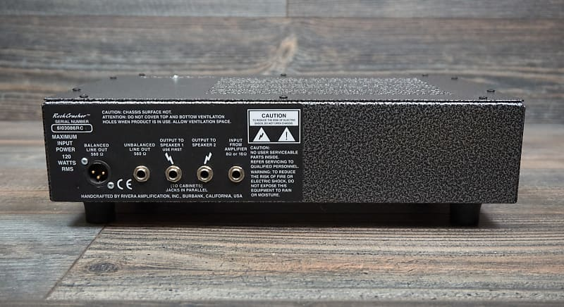 rivera rockcrusher power attenuator and load box reverb. Black Bedroom Furniture Sets. Home Design Ideas