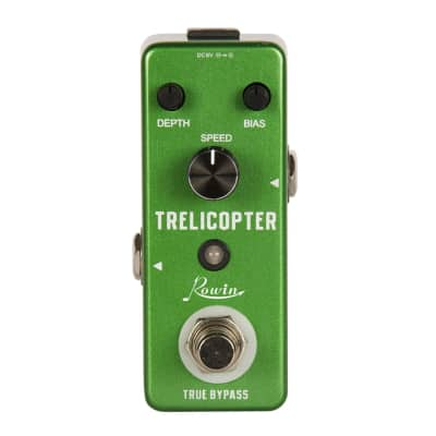Rowin TRELICOPTER TREMOLO Nice Price Fast/Free US Ship New Nice!