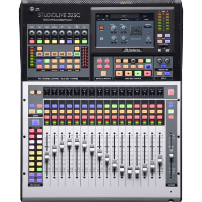 PreSonus StudioLive 32SC Subcompact Rackmount 32-Channel Digital Mixer and USB Audio Interface