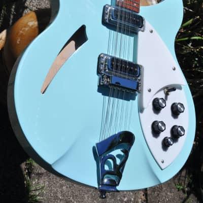 RARE 2005 Rickenbacker 330/12 BLUE BOY 12-String in Original Case ~MINT Like NEW~ BlueBoy for sale