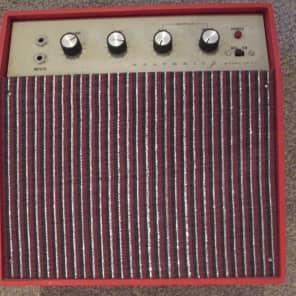 Heathkit JK-37 amplifier c.1968 red for sale