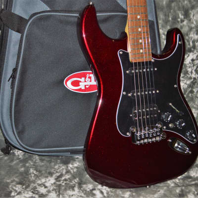 2021 G&L USA - Fullerton Deluxe Legacy HB - Ruby Red Metallic for sale