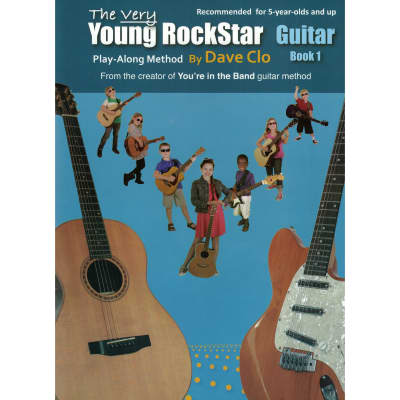 Dave Clo Music Publishing The Very Young RockStar Guitar Method Book 1