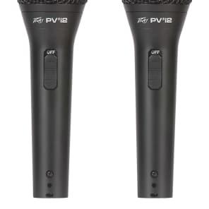 Peavey PVi2 Dynamic Cardioid Mic (2-Pack)