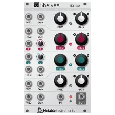 Mutable Instruments Shelves EQ Filter Eurorack Module