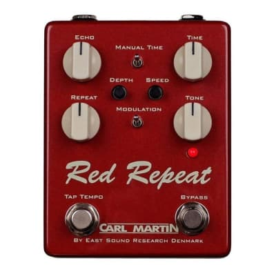 Carl Martin Red Repeat Delay/Reverb for sale