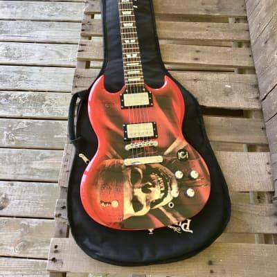 Epiphone Custom Shop SG 400 Pirates of the Caribbean Jack Sparrow Guitar w/ Pirates soft case for sale