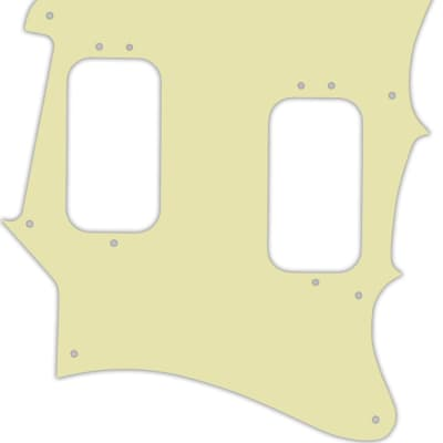 WD Custom Pickguard For Fender 2012-2013 Made In Mexico Pawn Shop Super-Sonic #34 Mint Green 3 Ply