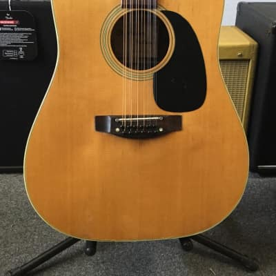 Orpheum F-400 Dreadnought 12 String Rosewood Back and Sides 70s built by Takamine for sale