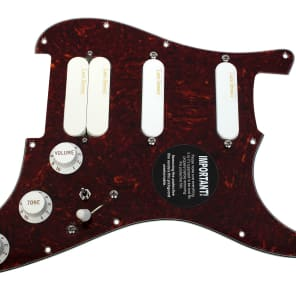 920D Custom Shop 294-28-10 Lace Sensor Gold/Dually Splittable Loaded Strat Pickguard