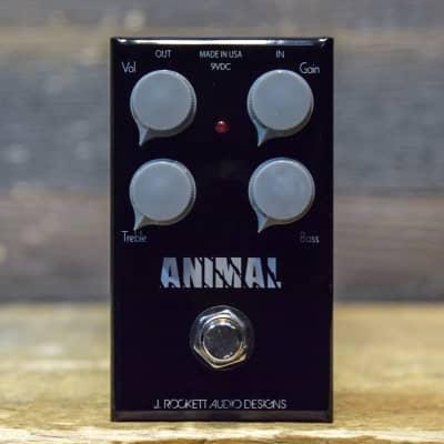 J. Rockett Audio Designs Animal OD Overdrive Distortion Guitar Effect Pedal for sale