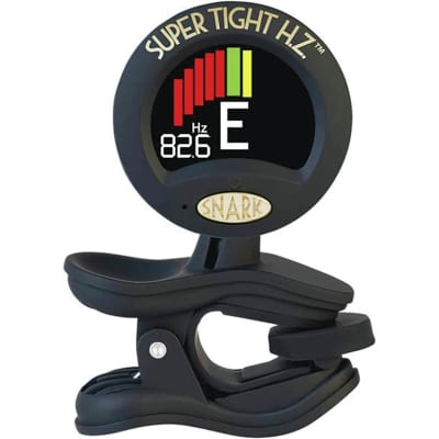 Snark ST-8HZ Super Tight Clip-On Chromatic Tuner with Hertz Tuning - For ALL Instruments