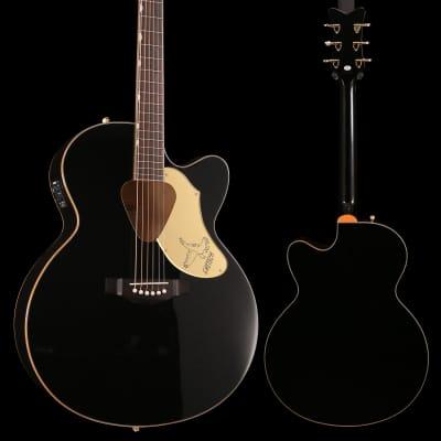 Gretsch G5022CBFE Rancher Falcon Jumbo Cutaway Acoustic Electric Black for sale