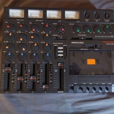 TASCAM Porta One Ministudio 4-Track Cassette Recorder w/Case
