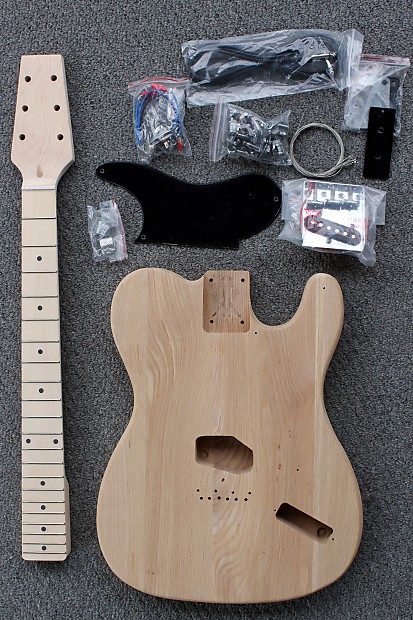 Diy Esquire Snakehead Tele Style Guitar Kit New Unfinished