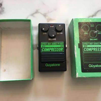 Guyatone PS-003 Box Series Compressor Rare Vintage Guitar Effect Pedal MIJ Japan