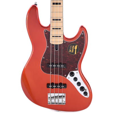 Sire Marcus Miller V7 Vintage Swamp Ash 4-String Bright Metallic Red (2nd Gen) B-STOCK for sale