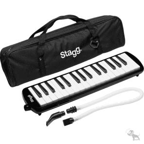 Stagg MELOSTA32BK 32-Key Reed Melodica