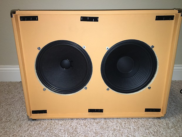 seismic audio traditional 2x12 cab with eminence reverb. Black Bedroom Furniture Sets. Home Design Ideas