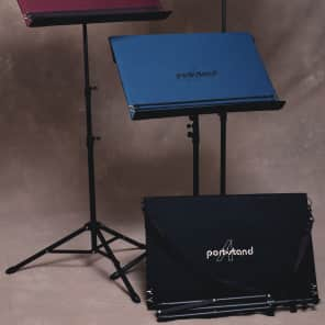 PortAStand PAS-TB-BLK Troubadour Music Stand