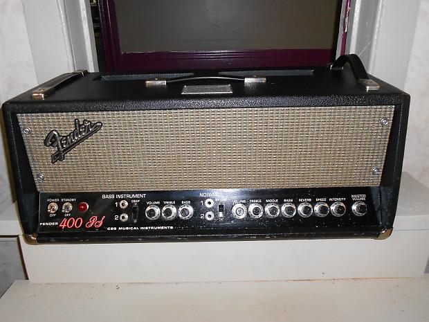 Vintage Fender 400-PS 70's Fender Biggest and Best Tube Amplifier