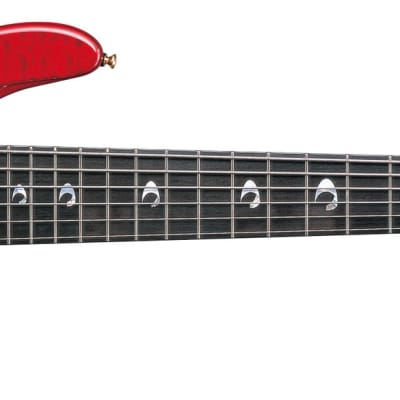Yamaha TRBJP2 Bolt-on Bass Guitar - John Patitucci Signature - Translucent Dark Red for sale