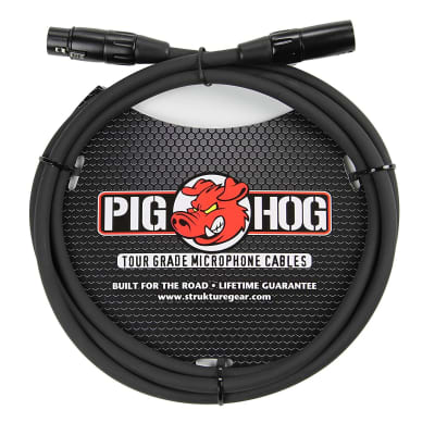 Lifetime Warranty! Pig Hog 8mm Mic Cable, 30' XLR to XLR, PHM30, Free Shipping