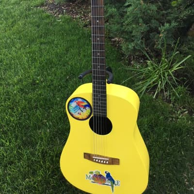 Samick  jimmy buffett  signed acoustic guitar for sale
