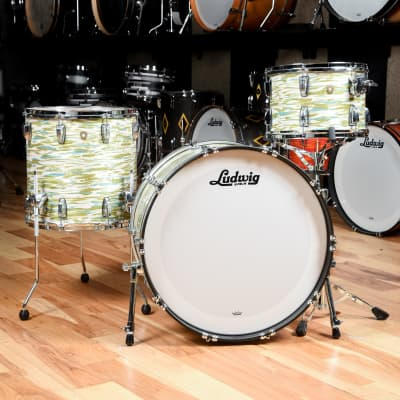 Ludwig Classic Maple 13/16/24 3pc. Drum Kit Blue/Olive Oyster
