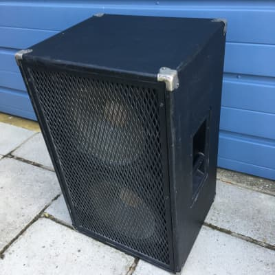 ATC Mega 2x12 Bass Cabinet Closed Back 1980 Black for sale