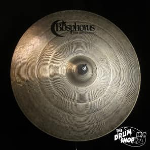 "Bosphorus 22"" New Orleans Series Ride Cymbal"