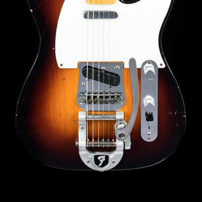 Fender Custom Shop Journeyman Relic Twisted Telecaster - Wide Fade 2-Tone Sunburst for sale