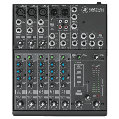 Mackie 802VLZ4 8-Channel Mic / Line Mixer