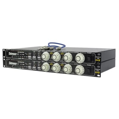Empirical Labs EL8-XS Distressor Stereo Pair with British Mode and Image Link