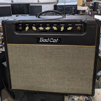 "Bad Cat Cougar 15 15-Watt 1x12"" Guitar Tube Combo Amp El84 Celestion Vintage 30"