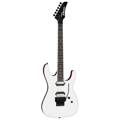 Dean Modern 24 Floyd Select Classic White Electric Guitar, MD24 F CWH