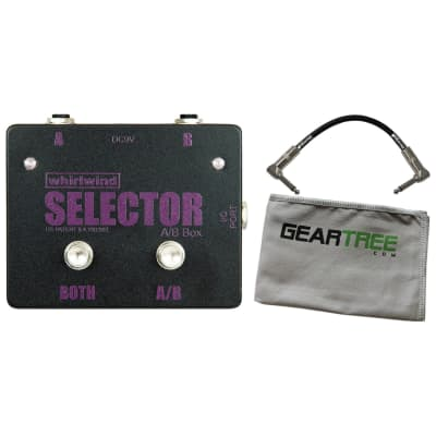 Whirlwind Selector Instrument Switch Channels A and B or Select Both 1 Meg Ohm Impedance In//Out