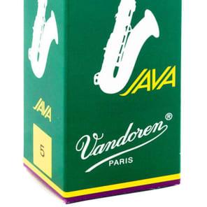 Vandoren SR275 Java Series Tenor Saxophone Reeds - Strength 5 (Box of 5)